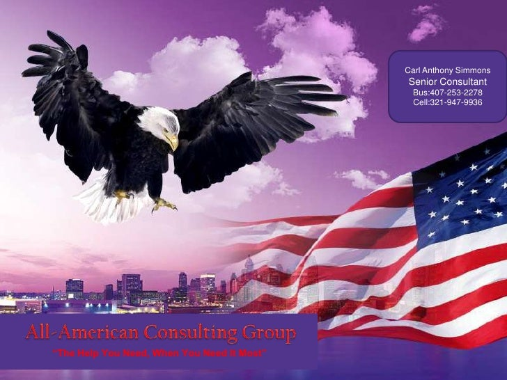 ALL-AMERICAN CONSULTING GROUP