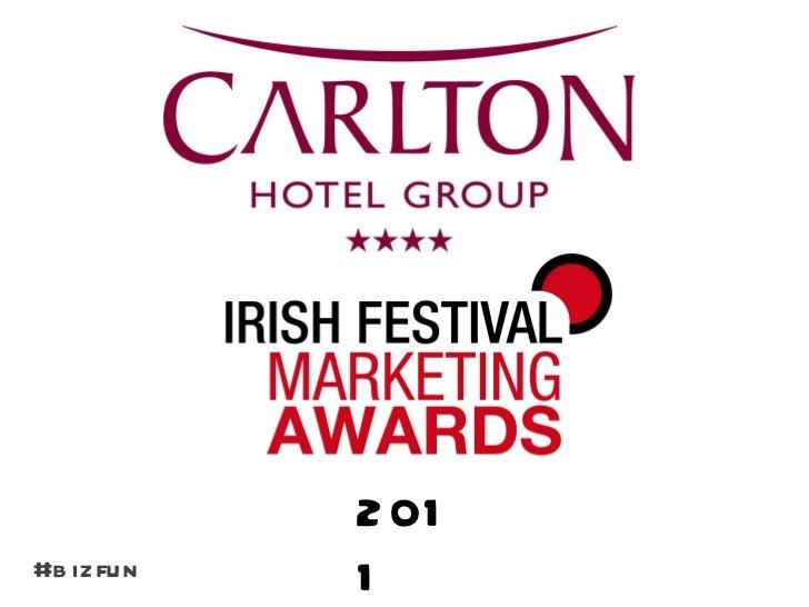 Carlton Irish Festival Marketing Awards 2011