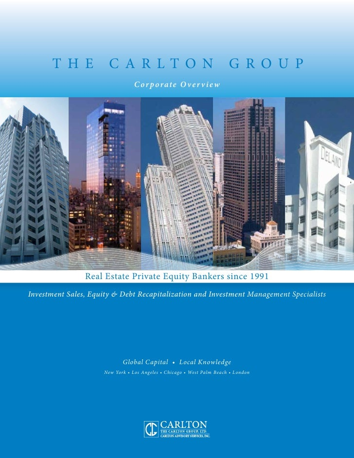 Carlton Corporate Overview