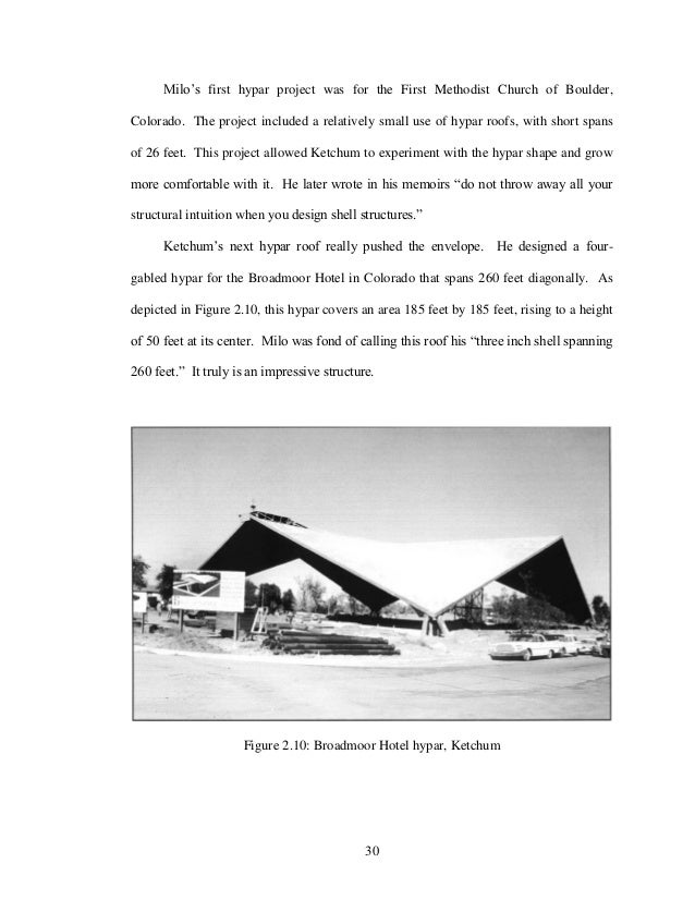 Construction thesis
