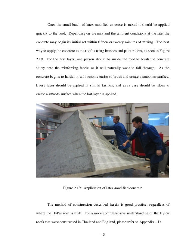 foam concrete thesis