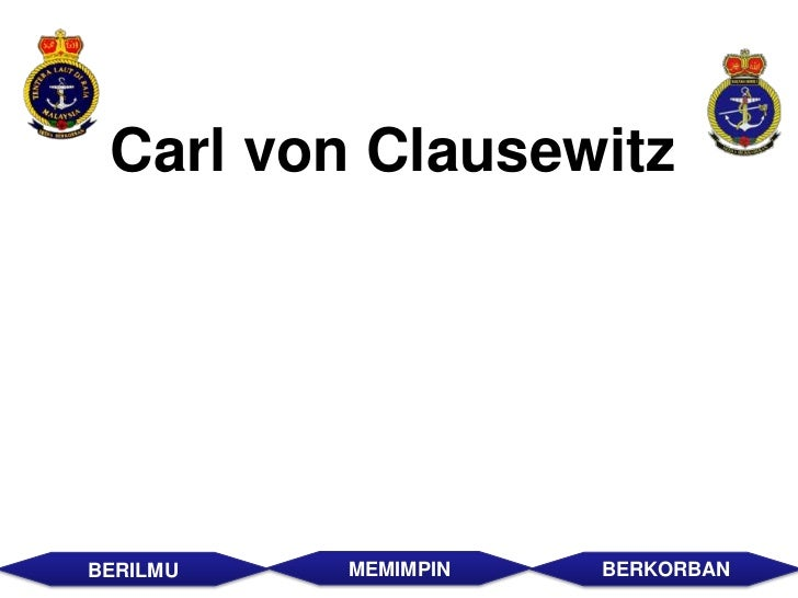 carl von clausewitz principles of war pdf