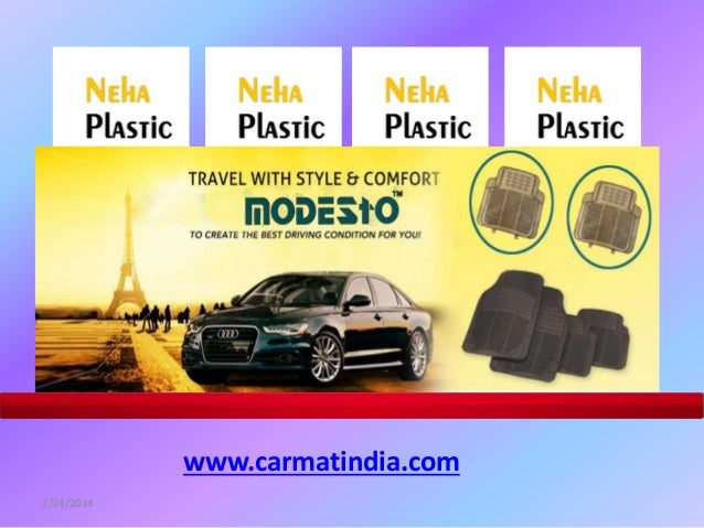 PVC Car Mat, Packypoda Car foot mat and PVC Compound