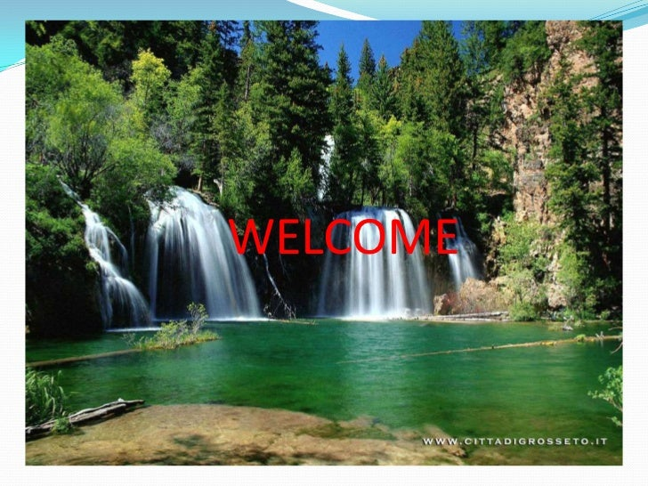 WELCOME<br />