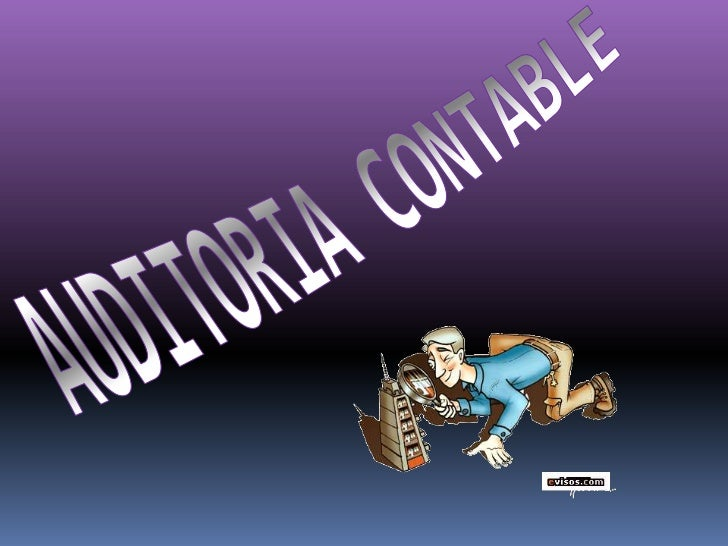 AUDITORIA CONTABLE<br />