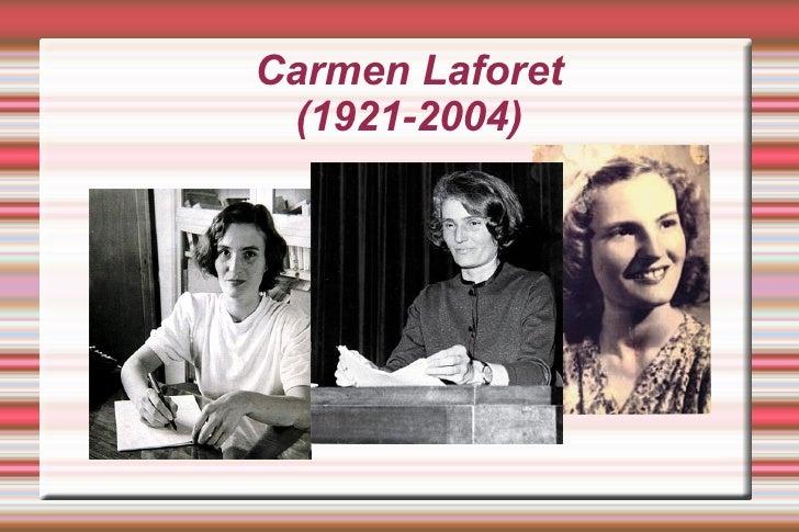 Carmen Laforet (1921-2004)