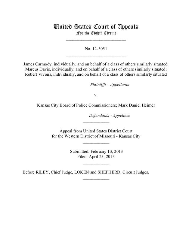 United States Court of AppealsFor the Eighth Circuit___________________________No. 12-3051___________________________James...
