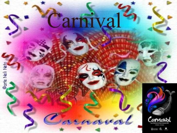 Tipos de Carnaval