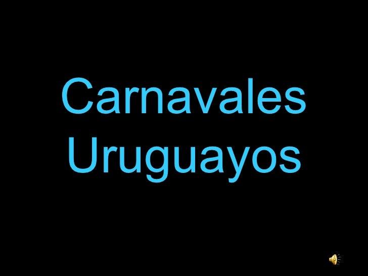Carnavales Uruguayos
