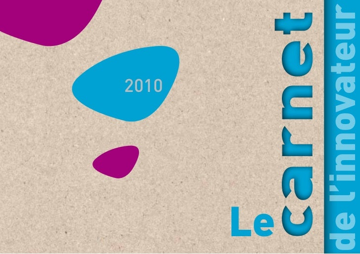 Carnet de l'innovateur 2010