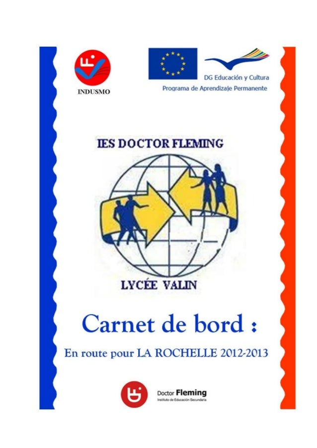Carnet d'echange 2012