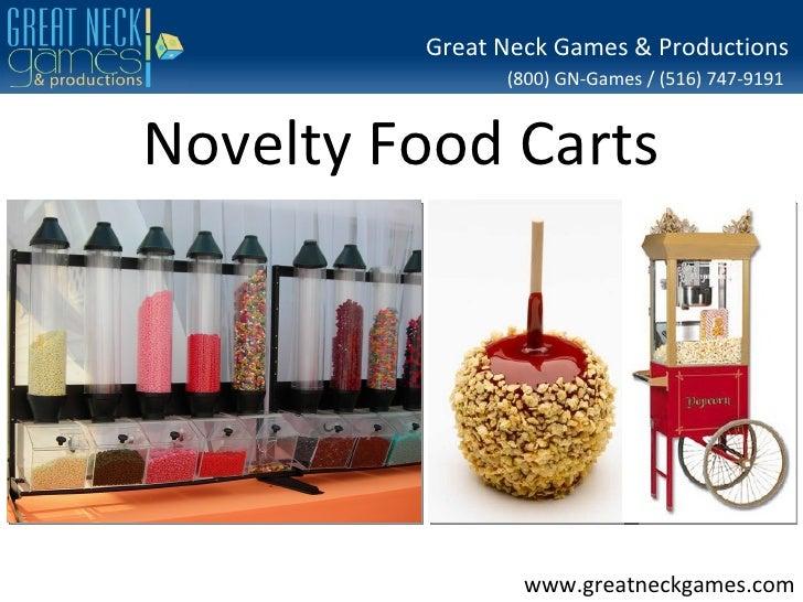Novelty Food Cart Rental NY NJ NYC CT PA