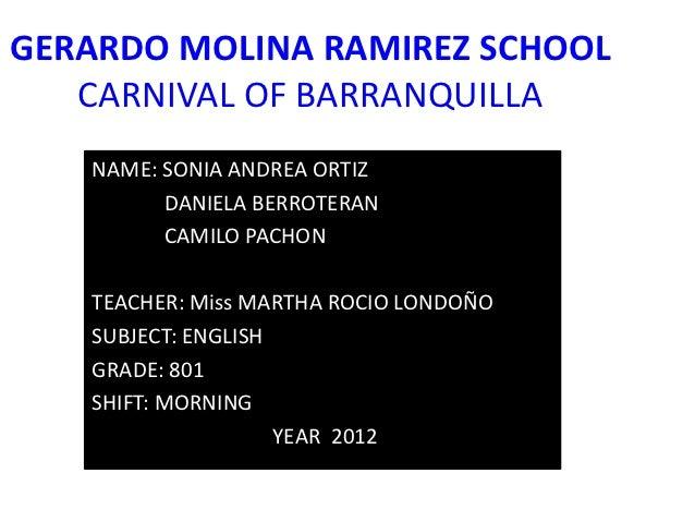 Carnival of barranquilla 2