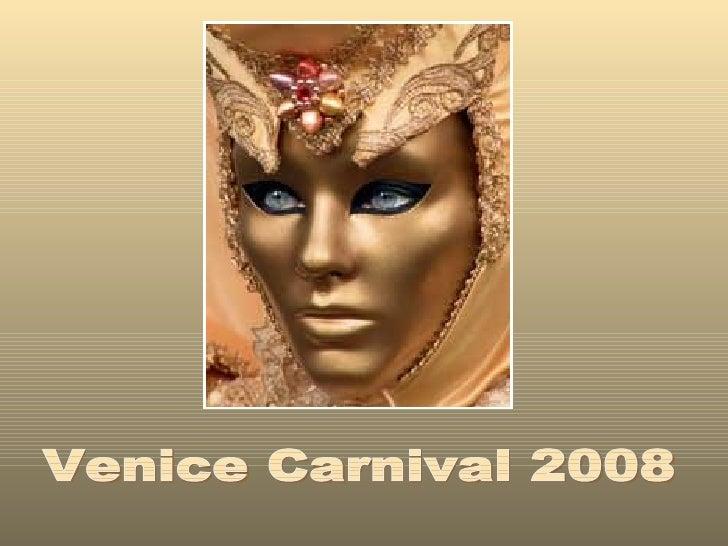 Carnival Venise 2008