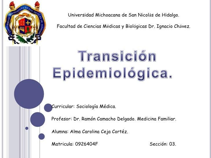 Universidad Michoacana de San Nicolás de Hidalgo.<br />Facultad de Ciencias Médicas y Biológicas Dr. Ignacio Chávez.<br />...