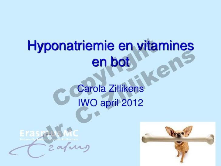 h nt sHyponatriemie en vitamines               ig e              r k          en bot           yZillikensi        p ill   ...
