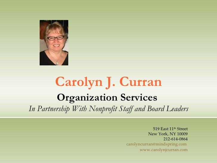Carolyns Services 2010