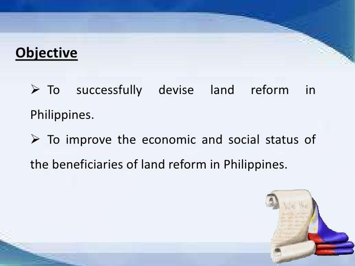 status of agrarian reform