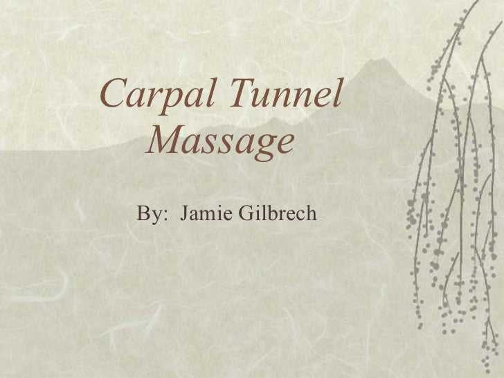 Carpal Tunnel Massage