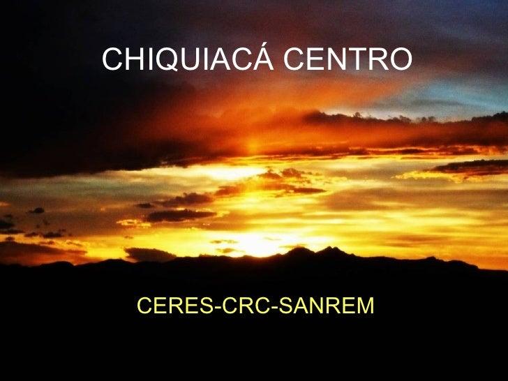 Carpeta comunal chiquiacá centro