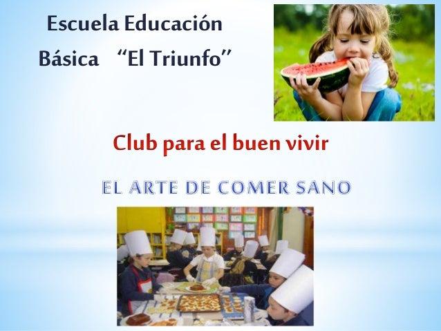 Escuela Educación  Básica ''El Triunfo''