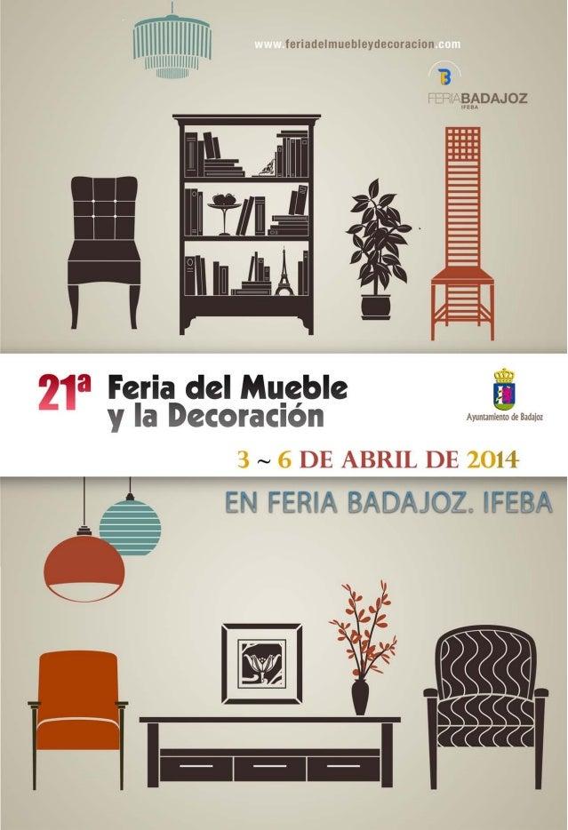 Carpeta comercial feria del mueble 2014 - Galeria comercial del mueble arganda ...
