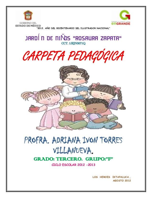 Caratulas Para Carpeta Pedagogica | newhairstylesformen2014.com