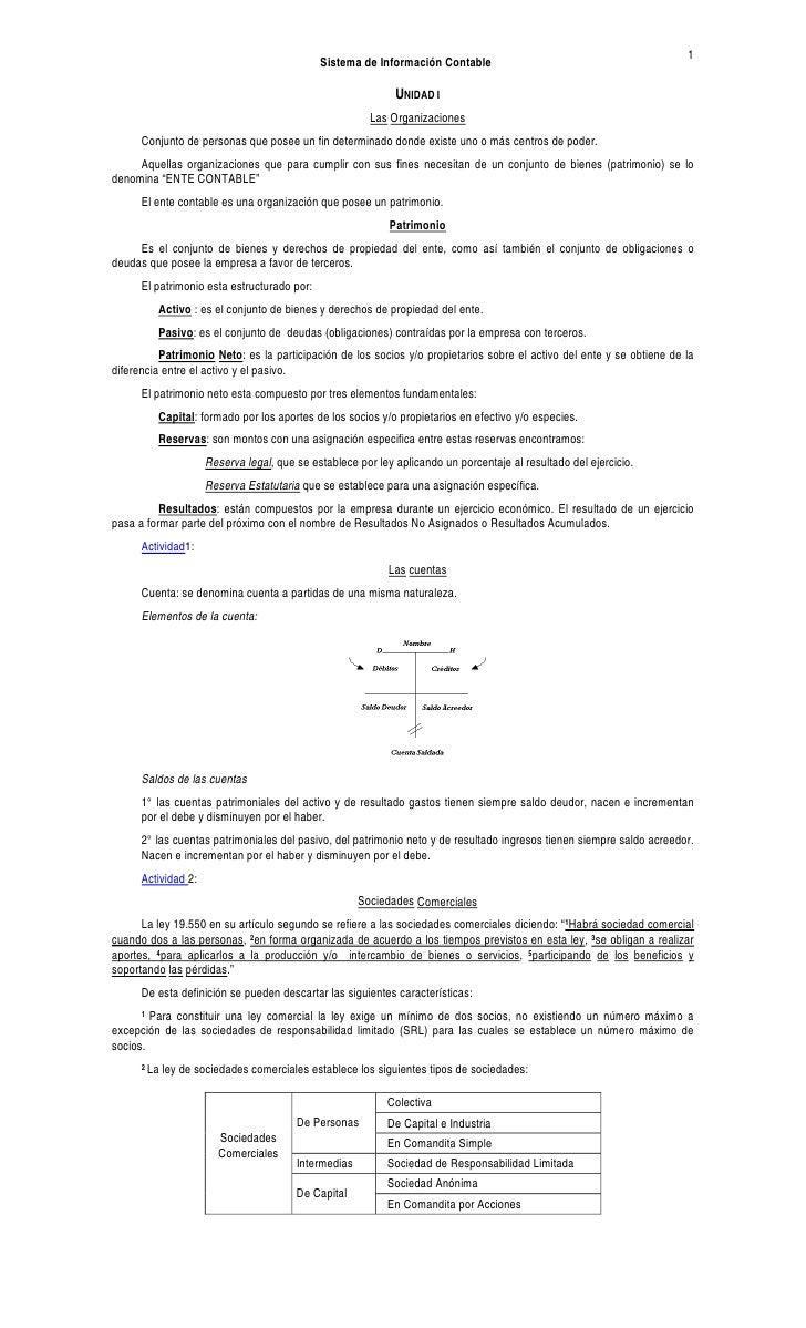 Sistemas de Informacion Contable II