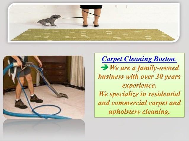 Carpet cleaning boston