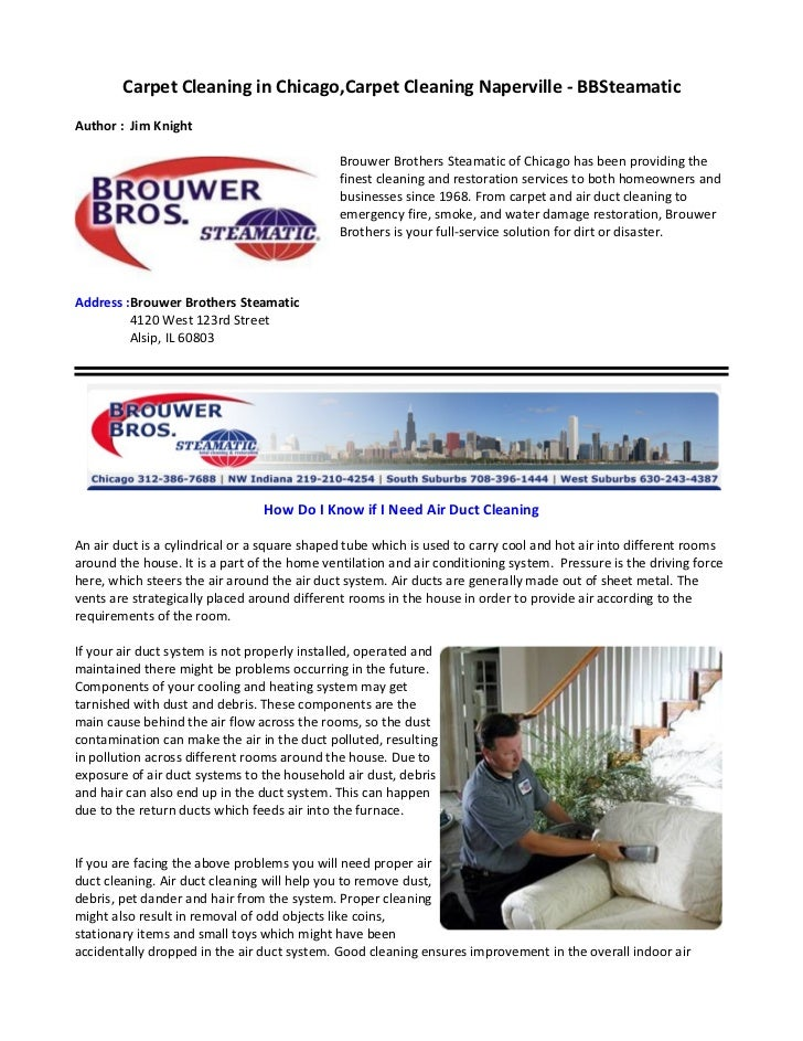 Carpet Cleaning in Chicago,Carpet Cleaning Naperville - BBSteamaticAuthor : Jim Knight                                    ...