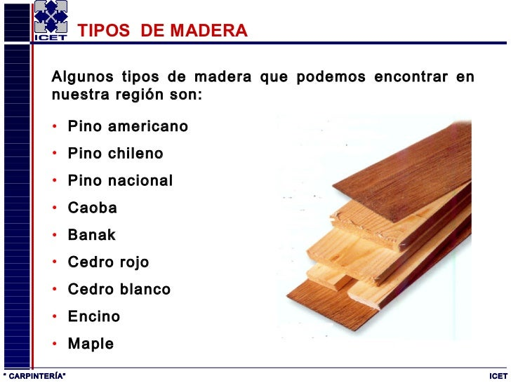 Carpinter a for Carpinteria en madera