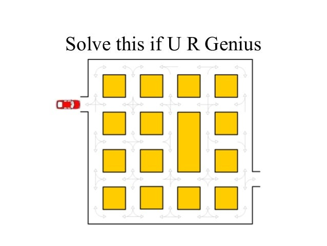 Solve this if U R Genius
