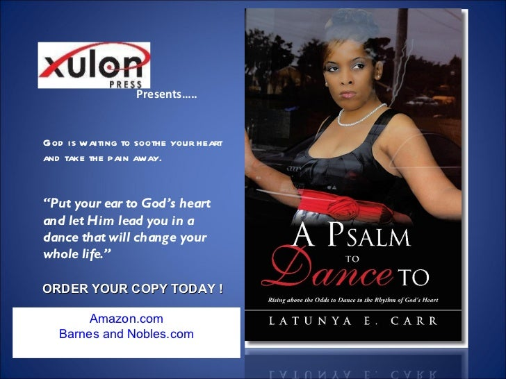 LaTunya E. Carr's  A Psalm to Dance To