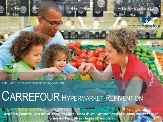 strategic markeitng managemnt carrefour Wal-mart and carrefour's supply chain management the expansion strategy of wal-mart and carrefour in terms of understanding its marketing.
