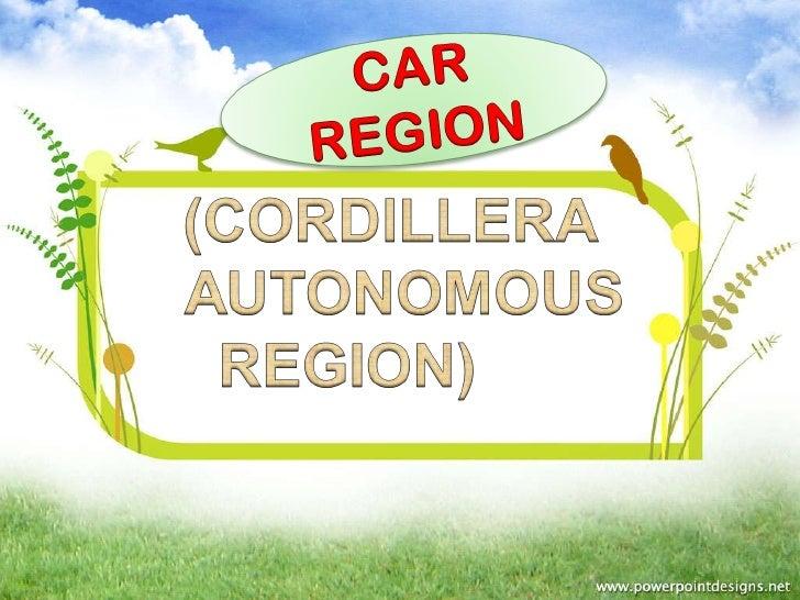Car region Philippines
