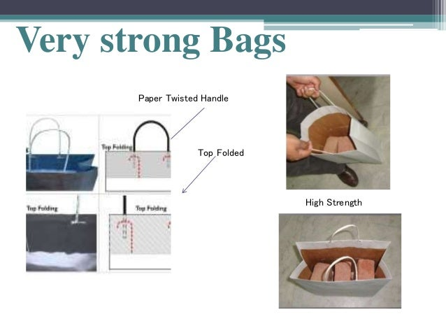 Strong Carrier Bags Very Strong Bags Paper Twisted