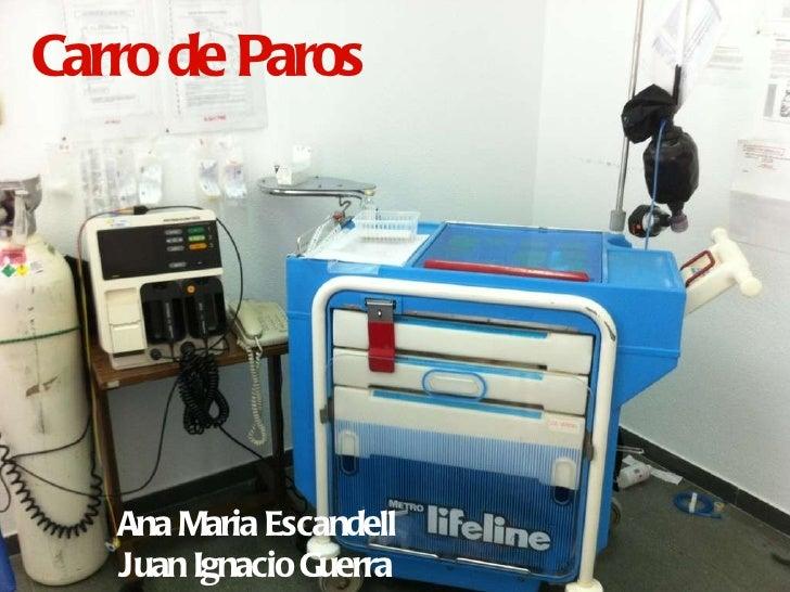 Carro de Paros <ul><li>Ana Maria Escandell </li></ul><ul><li>Juan Ignacio Guerra </li></ul>