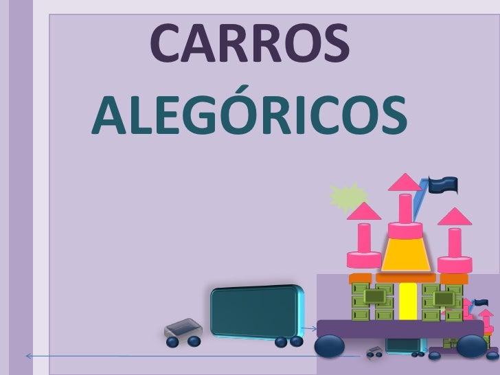Carros alegóricos