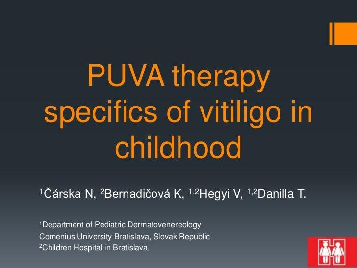 Carska, bernadicova puva specifics of vitiligo in childhood