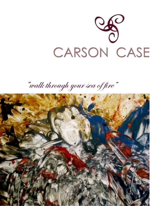 Carson Case art book