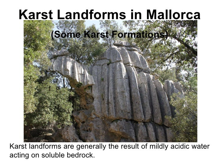 Karst Landforms in Mallorca