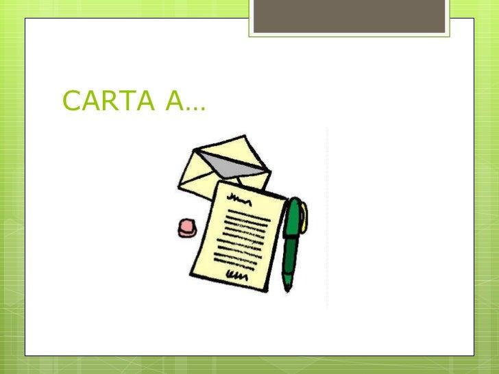 CARTA A…