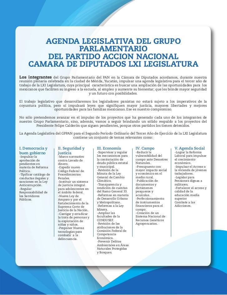 Agenda Legislativa Estratégica