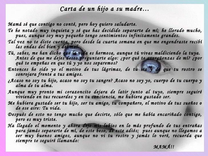 Carta De Un Hijo A Su Madre4