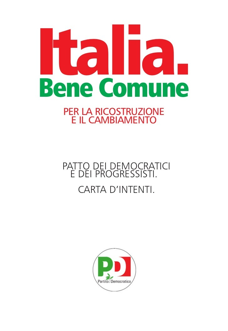 carta intenti:Layout 1 30/07/2012 16:43 Pagina 17                Italia.                 Bene Comune                      ...