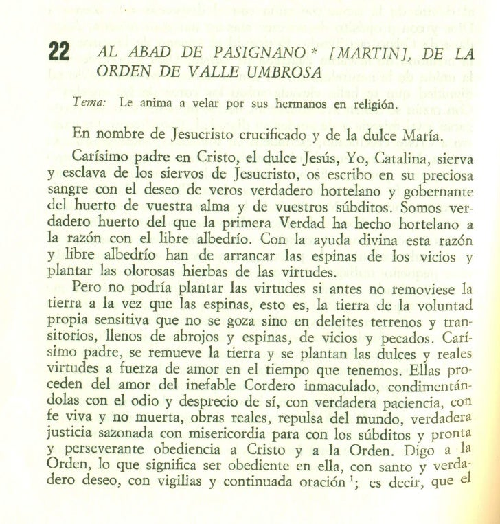 AL ABAD DE PASIGNANO (MARTIN), DE LA ORDEN DE VALLE UMBROSA