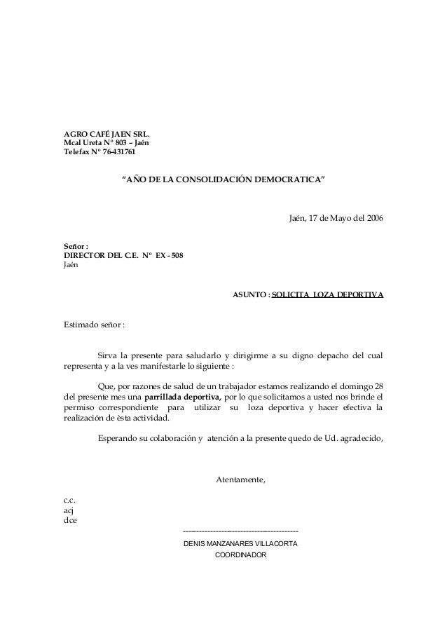 Carta bcp for Solicitud de chequera
