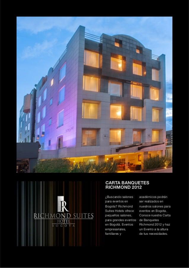 Carta buffetes eventos   richmond suites hotel copia