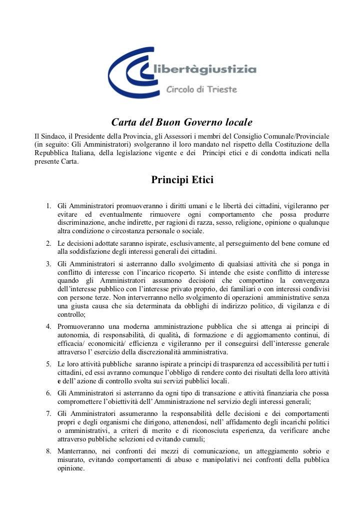 Carta buon governo_locale