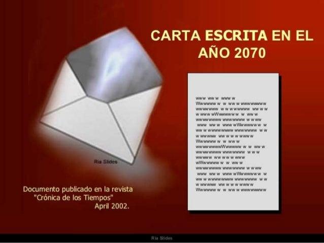 Carta del 2070